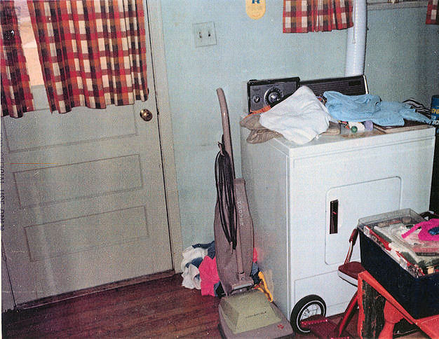 February 17, 1970: Utility room of 544 Castle Drive