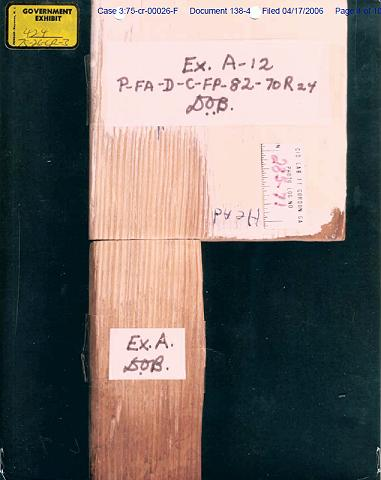 Exhibits A and A12: Comparison of growth rings