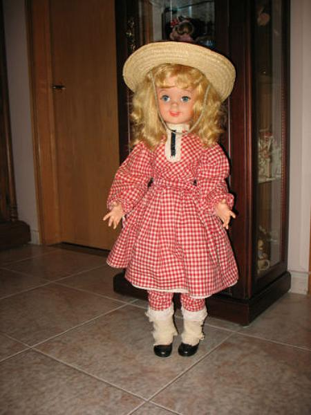 1960 Uneeda Walt Disney Pollyanna doll.